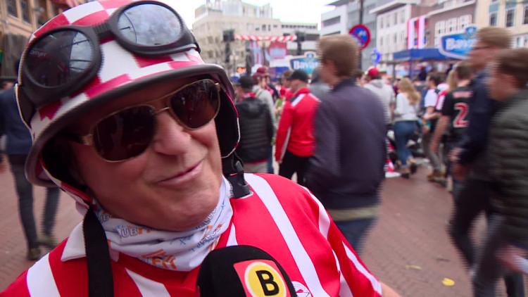 Eindhoven viert groots PSV-feest: van selfies tot vuurwerk