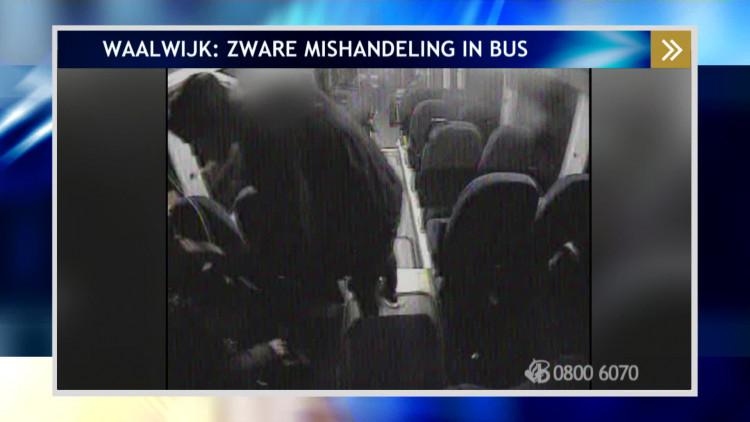 Man mishandelt medepassagier in bus