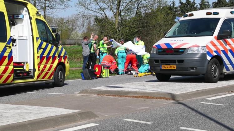 Oudere fietser in Best aangereden en overleden