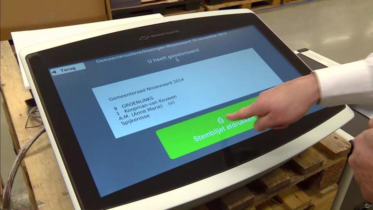 Stemmen zonder potlood: VDL ontwikkelt een stemmachine