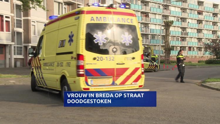 Vrouw (42) doodgestoken in Breda, 'verdachte bleef steken'