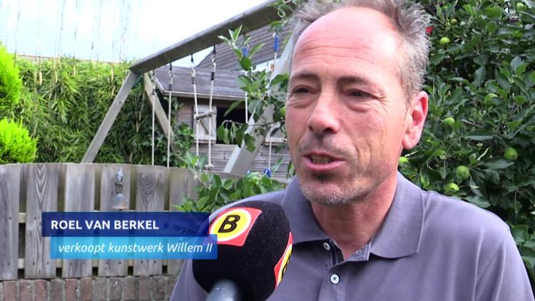 Stuk (loodzwaar) geschiedenis van Willem II te koop