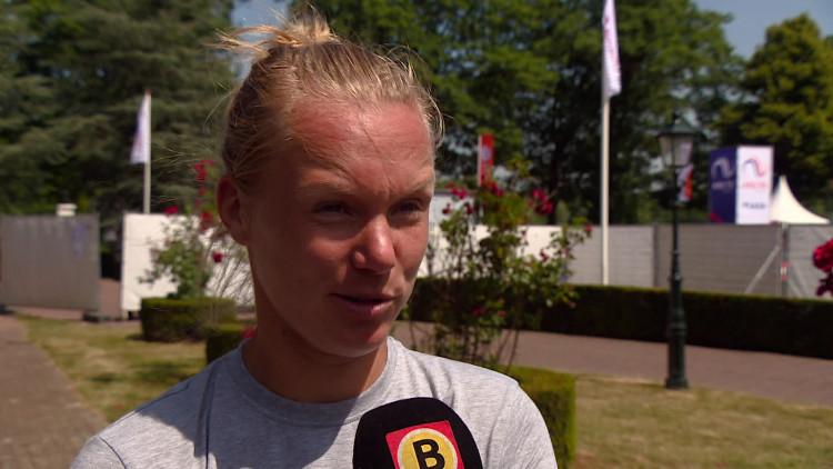 Er wordt veel verwacht van Kiki Bertens in Rosmalen: 'Ik houd niet heel erg van die druk'