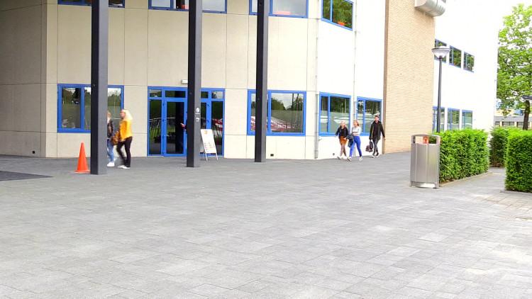 Stormloop op de opleiding Verpleegkunde bij Fontys.