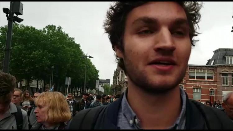 Maarten Nelissen over de bommelding op Den Bosch centraal station