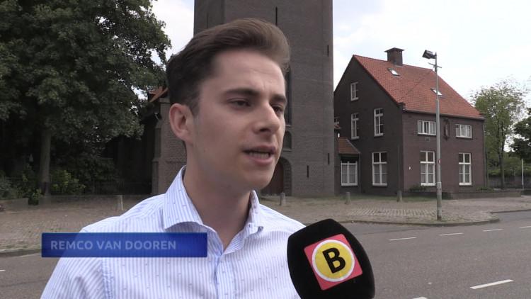 Remco van Dooren wil de krakers de kerk uit hebben