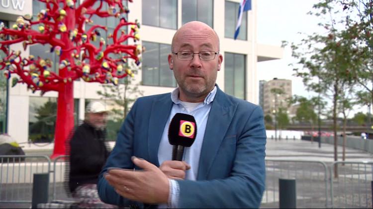 Koning Willem-Alexander opent de nieuwe rechtbank in Breda
