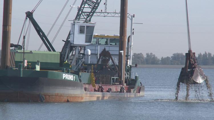 Megaklus: Het uitdiepen van spaarbekken De Gijster in de Biesbosch