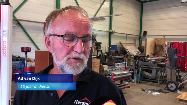 50 jaar dijk Adriaan van Dijk werkt 50 jaar bij Heesmans in Helmond   Omroep  50 jaar dijk