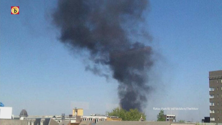 Twee gewonden bij brand in Tilburg